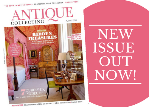 The new issue of Antique Collecting magazine is out now