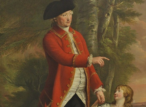 The 4th Duke of Bedford with the Marquess of Blandford by Hugh Douglas Hamilton