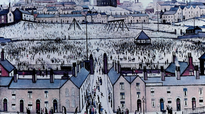 LS Lowry print in Surrey sale