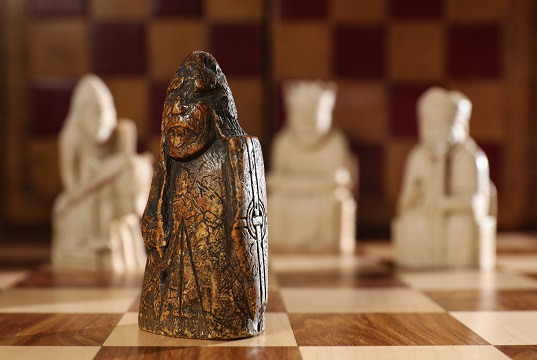 One of the Lewis Chessmen set to be sold in July