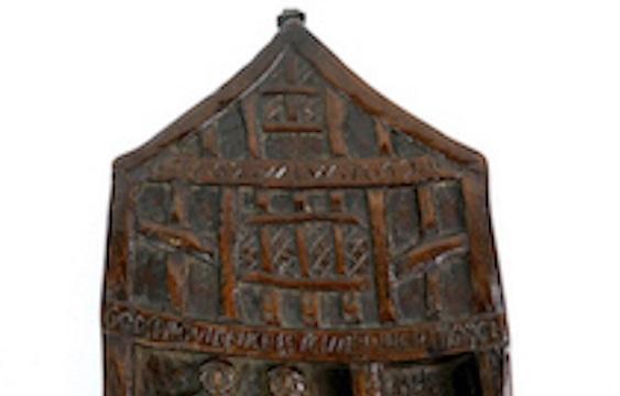 Wooden plague panel in Shrewsbury sale