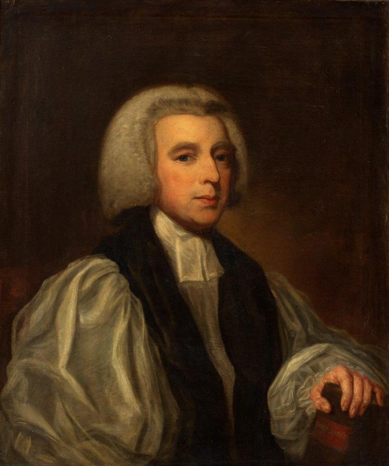 A portrait of the Right Reverend Beilby Porteous