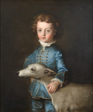 Philip Mercier painting