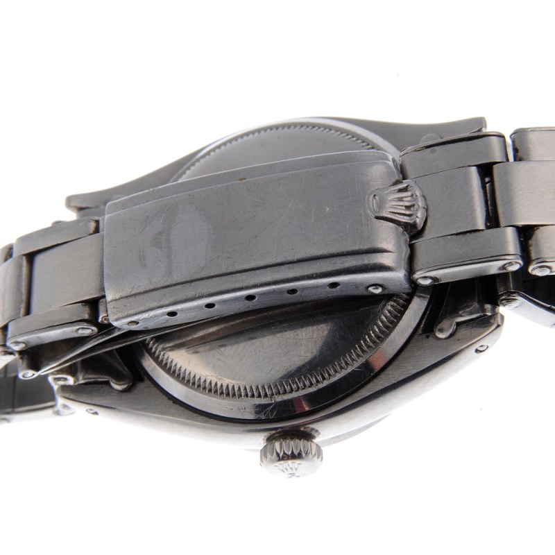 Back of the Rolex Oyster Perpetual Explorer watch