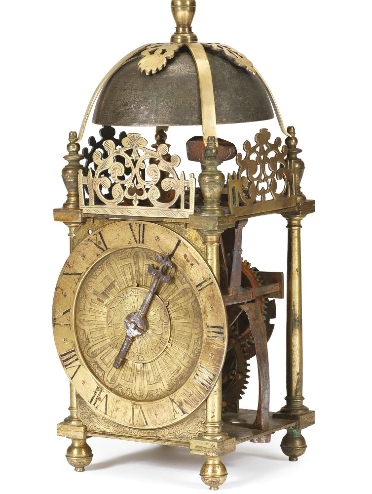 Antique clock feature in this month's Antique Collecting magazine