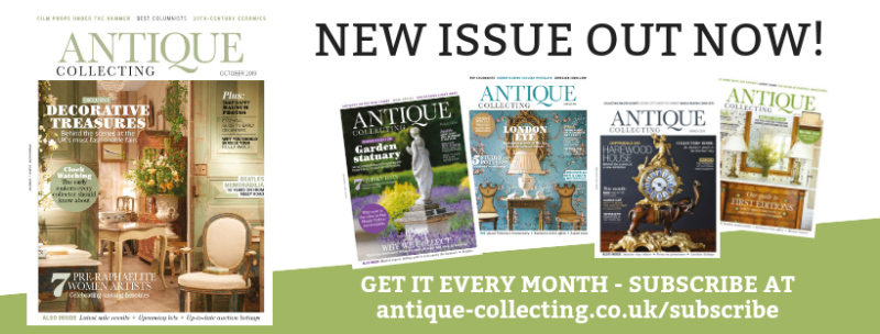 Antique Collecting magaazine October 2019 is out now