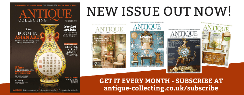 New issue of Antique Collecting magazine