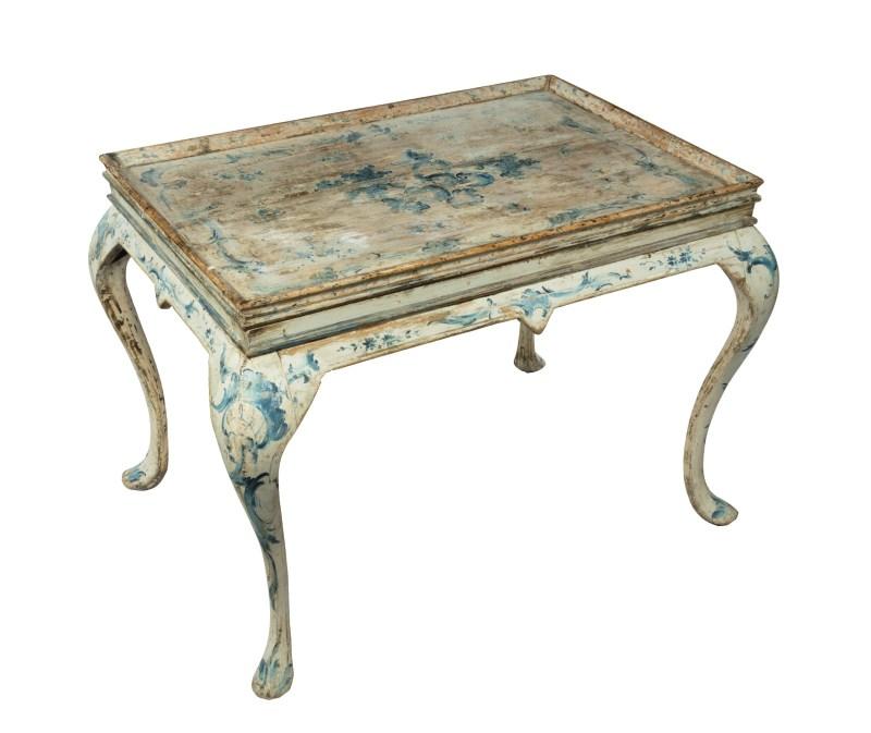 Antique Norwegian table at Winter decorative antiques and Textiles Fair