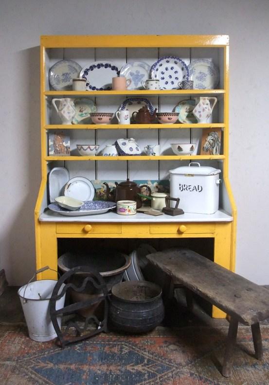 antique Ulster pine dresser