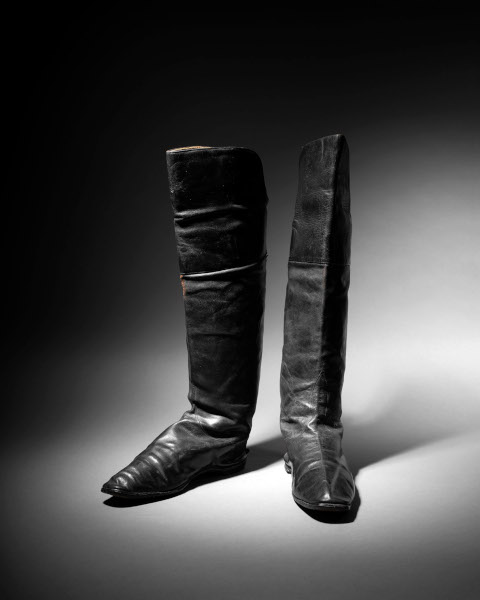 A pair of Napoleon's boots in the Paris sale