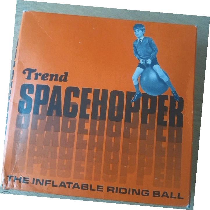 Vintage spacehopper