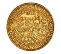 Silver gilt medal commemorating the defeat of the Spanish Armada