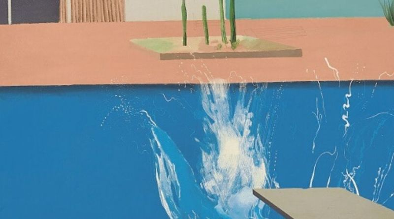 David Hockney The Splash