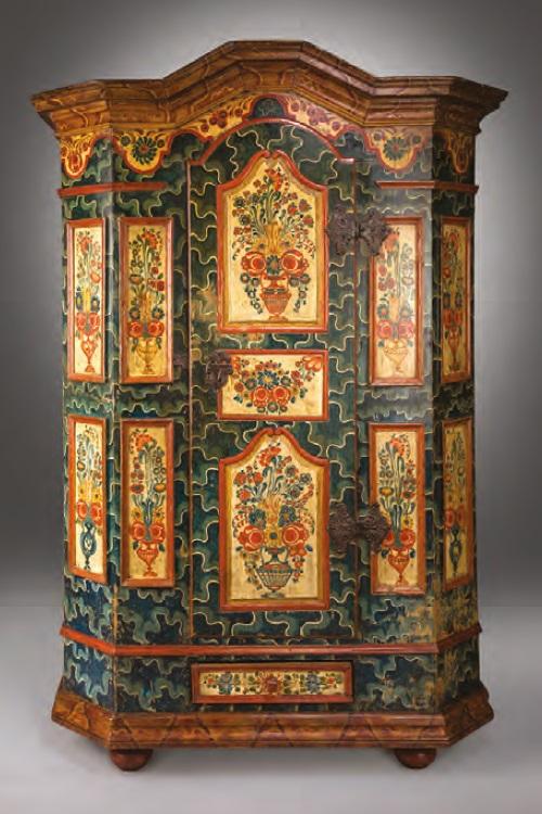 An antique wedding cupboard