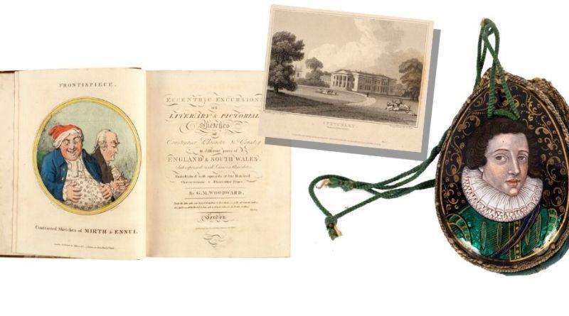 Spetchley Park auction