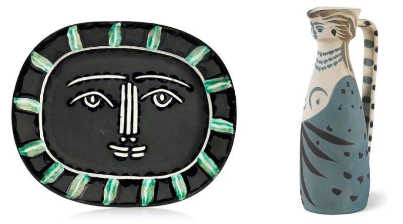 Picasso's ceramics in London exhibition