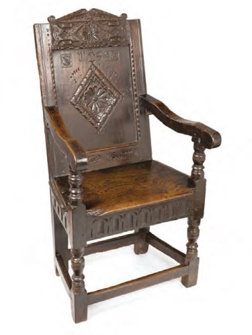 The bard wood chair