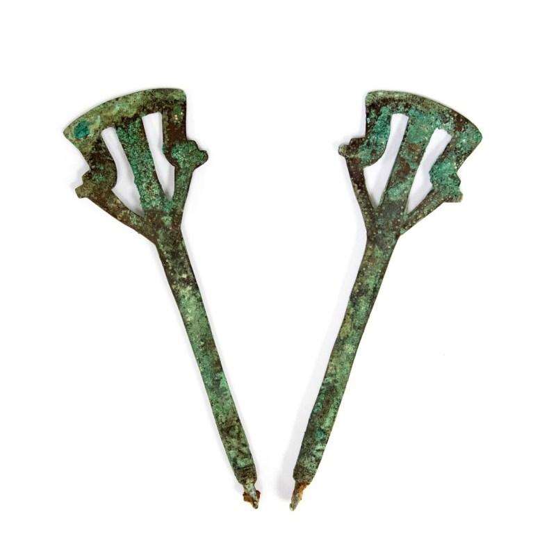 Anglo-Saxon Girdle Hangers, c. 5th – 6th Century AD.