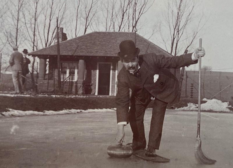 Partick Curling Club circa 1904