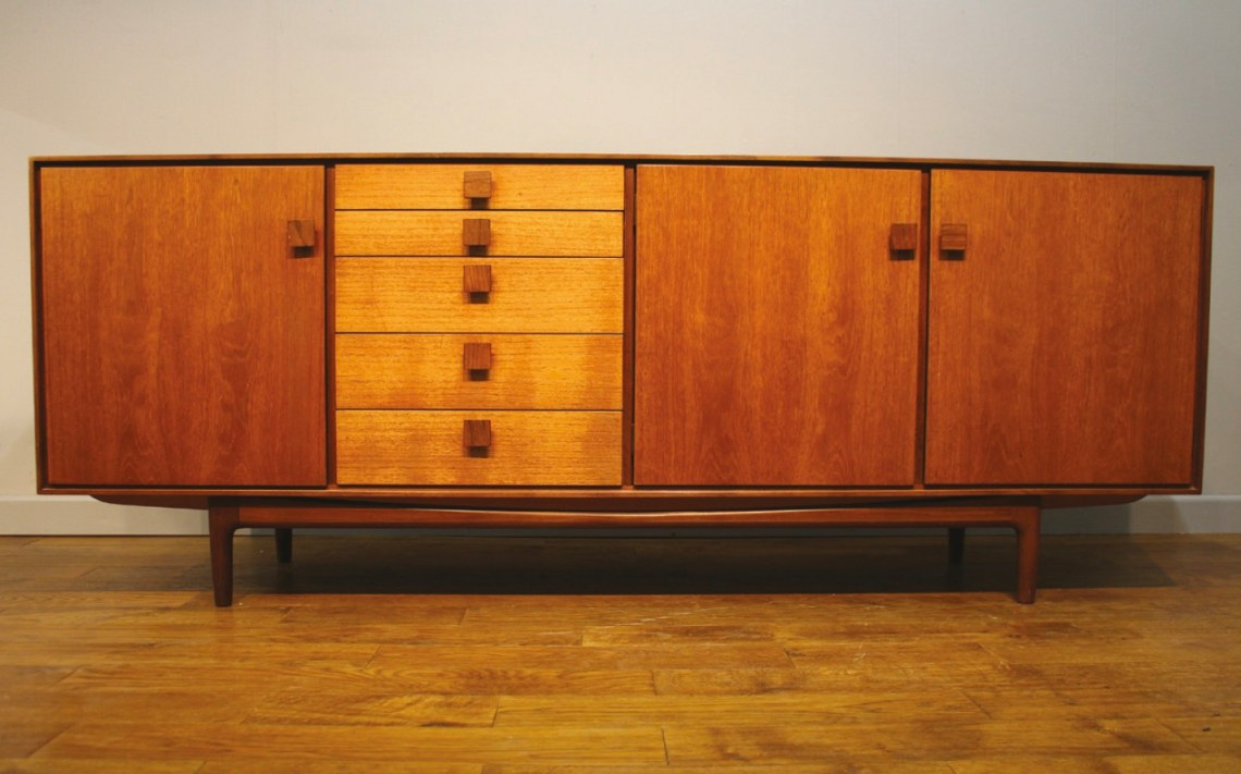 A vintage sideboard