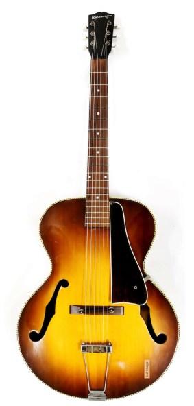 Eric Clapton's 1930s Gibson Kalamazoo guitar