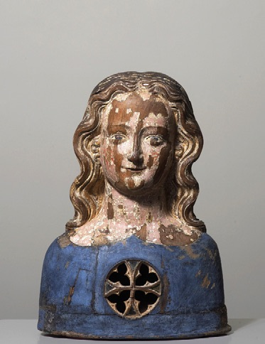 Reliquary bust of one of the 11,000 Virgins, Germany, Cologne, c1350
