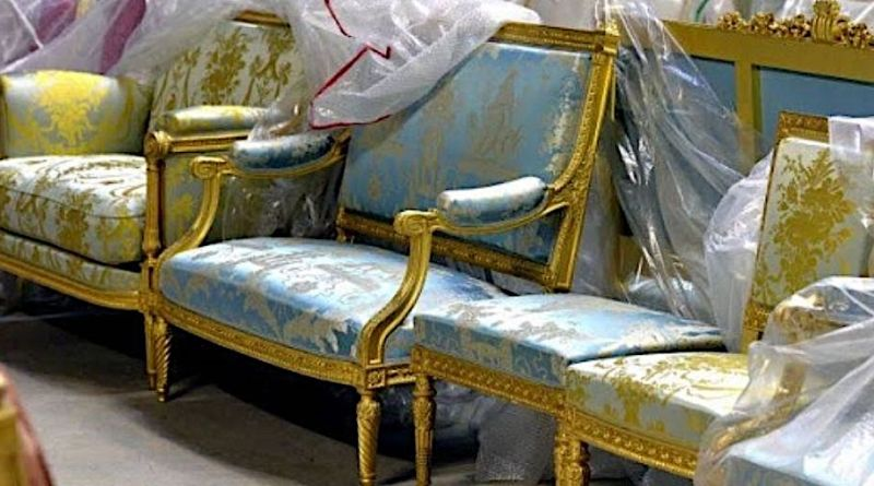 Antique furniture from Mobilier National set to sell in September