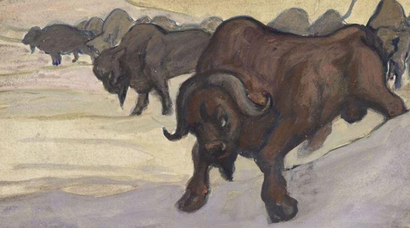 Alfred Kubin, Bison
