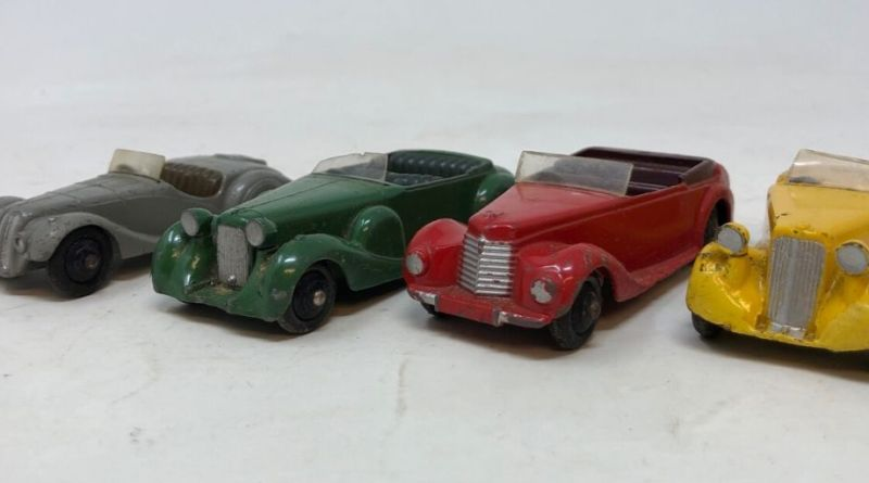 Dinky cars could drive high prices