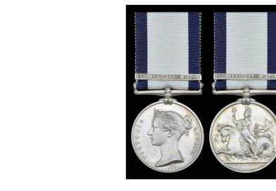 Sale of naval medals