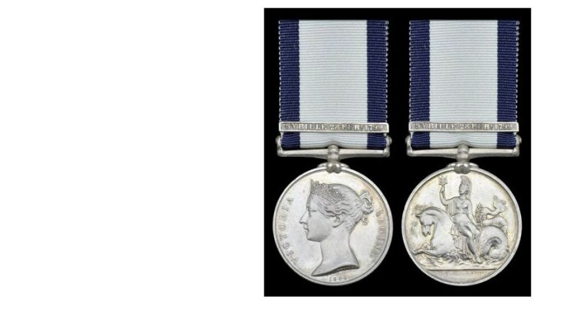 Sale of naval medals
