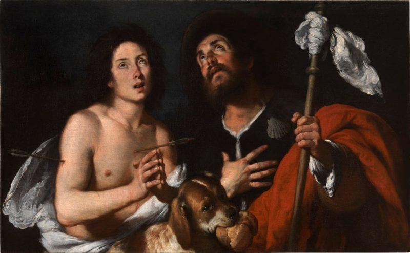 Bernardo Strozzi (Genoa 1581 - Venice 1644) Saint Sebastian and Saint Rocco, c. 1635