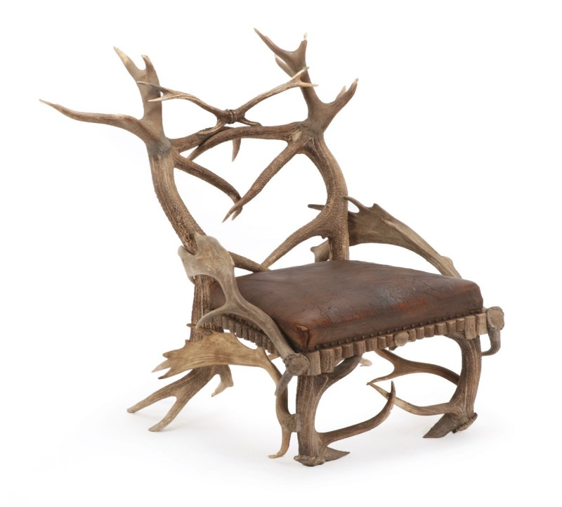 Antler armchair