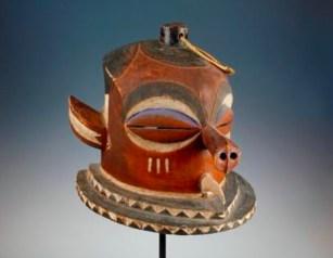Tribal Art Animal Helmet Dance Mask