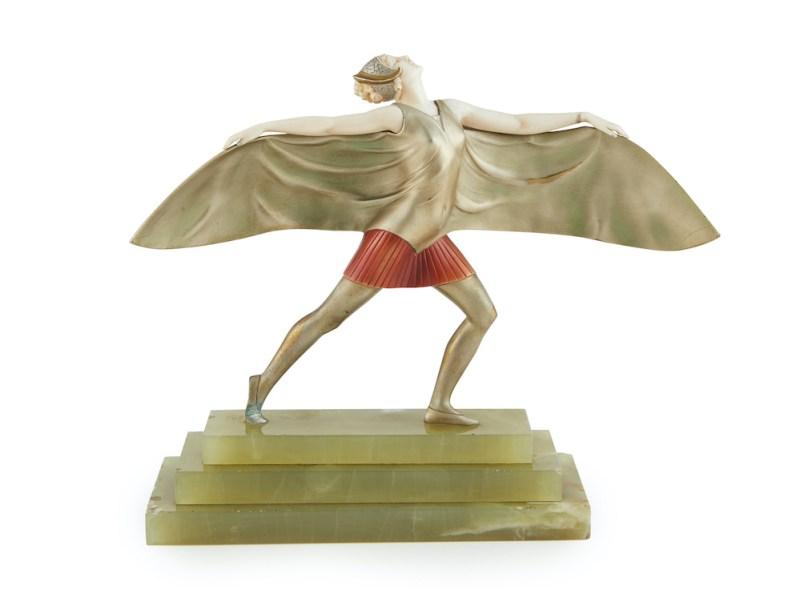 Ferdinand Preiss Batgirl statue
