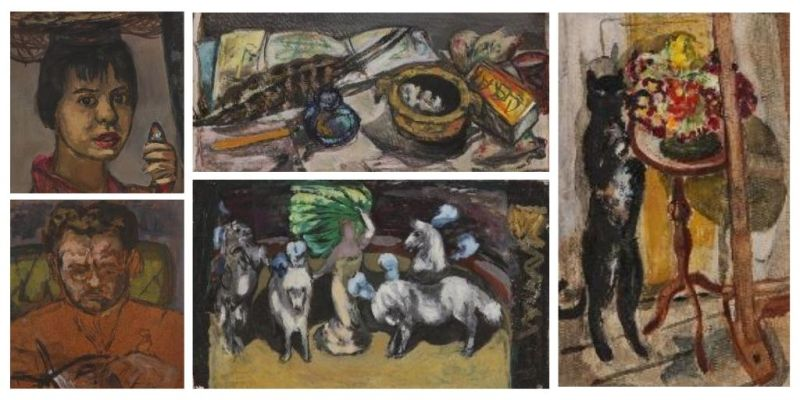 Selection of Marie-Louise von Motesiczky oil paintings