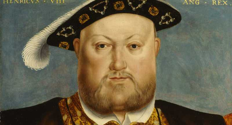 Painting of Henry VIII by Hans Holbein