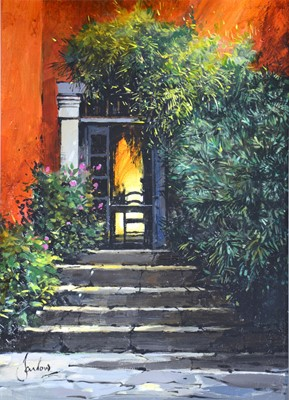 Door to the Villa by Jeremy Barlow
