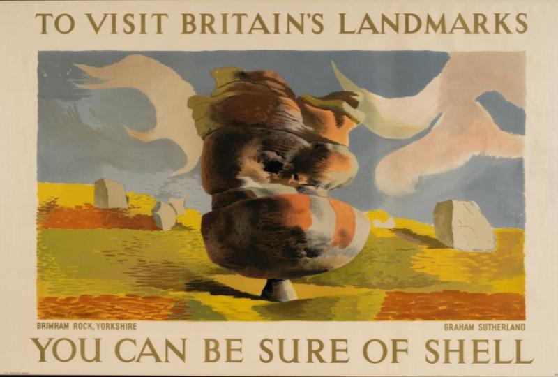 Graham Sutherland motoring poster