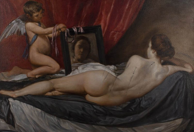 Nicholas Middleton copy of Toilet of Venus by Velasquez