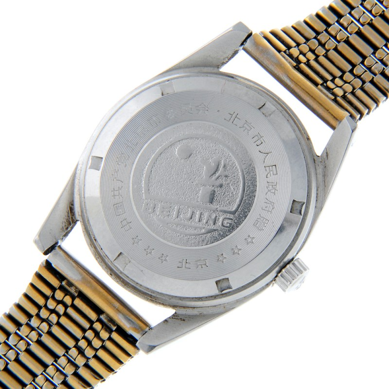 The reverse of the Tiananmen square watch in Fellows sale