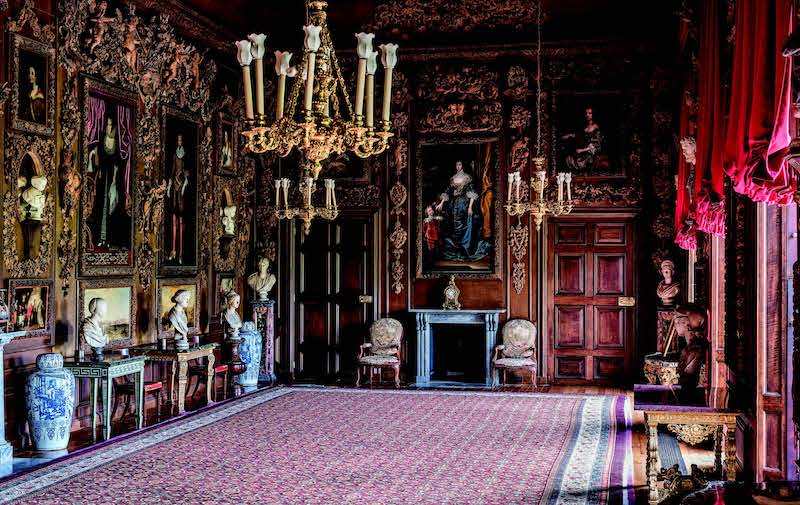 The Carved Room, with the four paintings byTurner restored to the panelling, at Petworth©National Trust Images/Andreas von Einsiedel