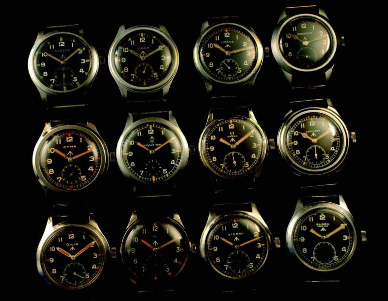 The Dirty Dozen military watches
