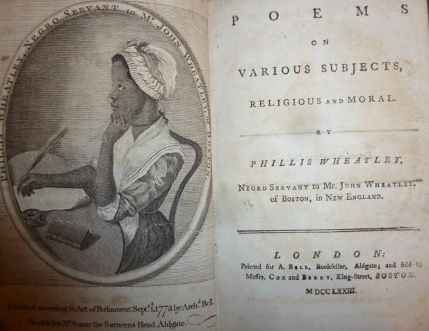 Poetry by Phillis Wheatley