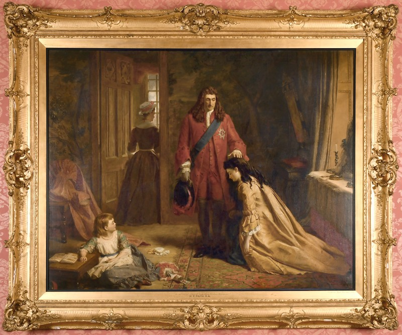 oil on canvas work by William Powell Frith
