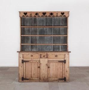 An antique 19th century Irish dresser