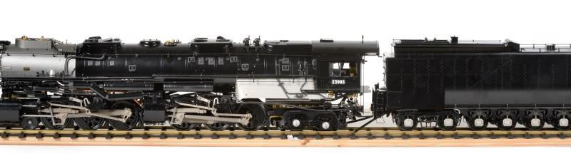 The Union Pacific Challenger model steam train