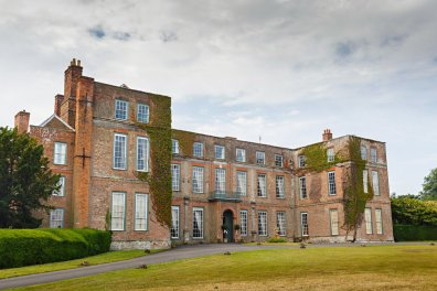 Glemham Hall in Suffolk setting of the Grand Brocante