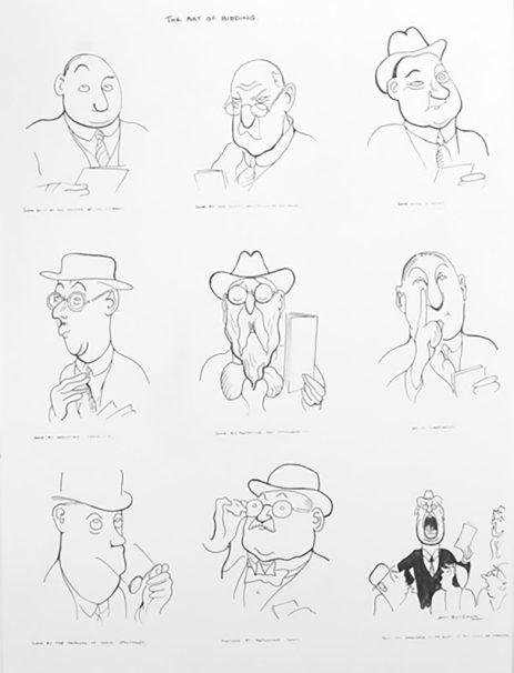 Henry May Bateman illustrations