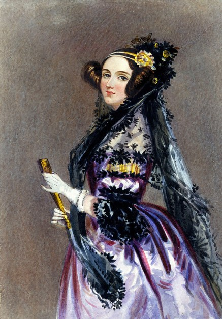 Portrait of Lady Ada Lovelace